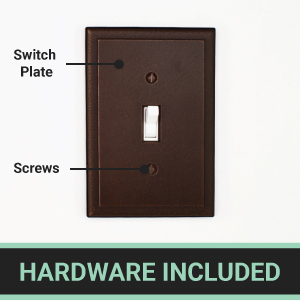 Cast Metal Hardware Included