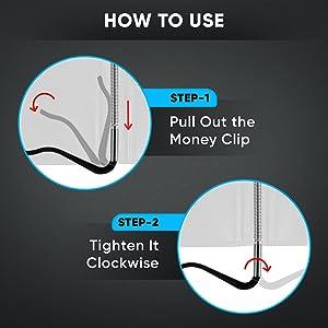 money clip wallet, wallets with money clip, clip wallets, money clip, rfid money clip wallet