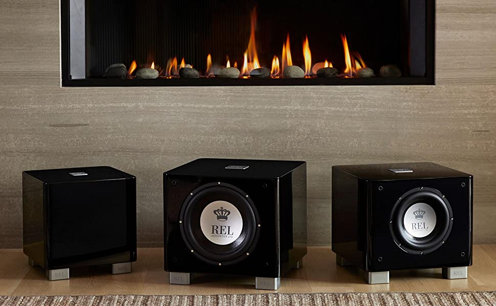 REL Acoustics T/x Series Subwoofer including T/9x, T/7x and T/5x.