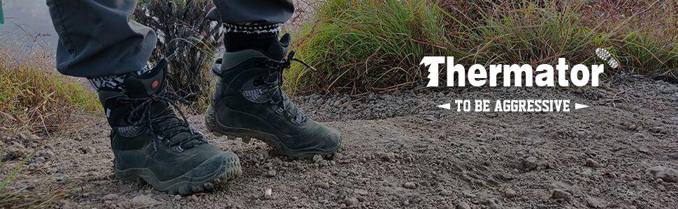 Men's Mid Trekking Hiking Boots