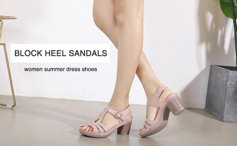 chunky heels for women