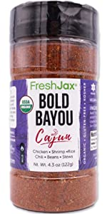 FreshJax Certified Organic Bold Bayou Spice Blend