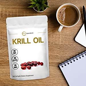 krill Oil Softgel