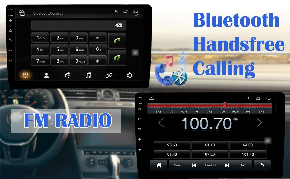 car stereo radio single din android touchscreen stereo