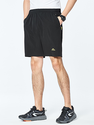 Mens Outdoor Workout Running Shorts Quick Dry Lightweight Casual Hiking Shorts Pockets