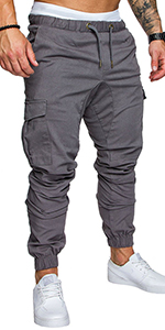 Remxi Mens Cargo Trousers
