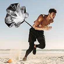 parachute for speed training running parachute speed training speed chute speed parachute