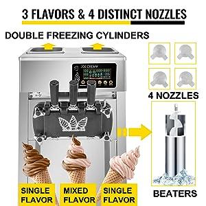machine à crème glacée professionnelle