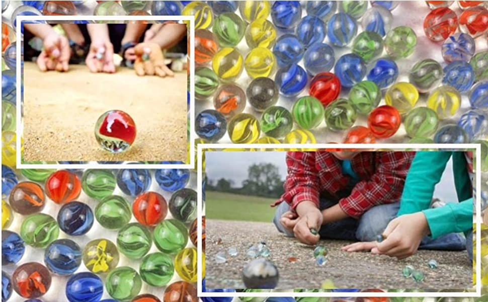 Great marbles for indoor or outdoor play