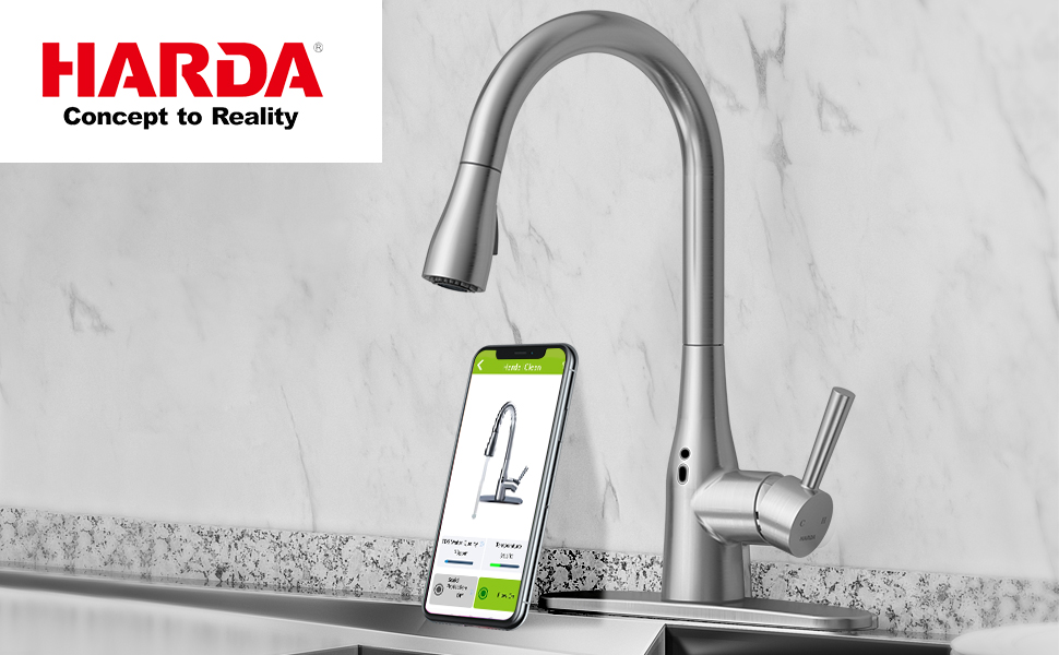 Harda  touchless kitchen faucet