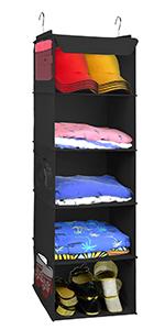 closet organizer and storage