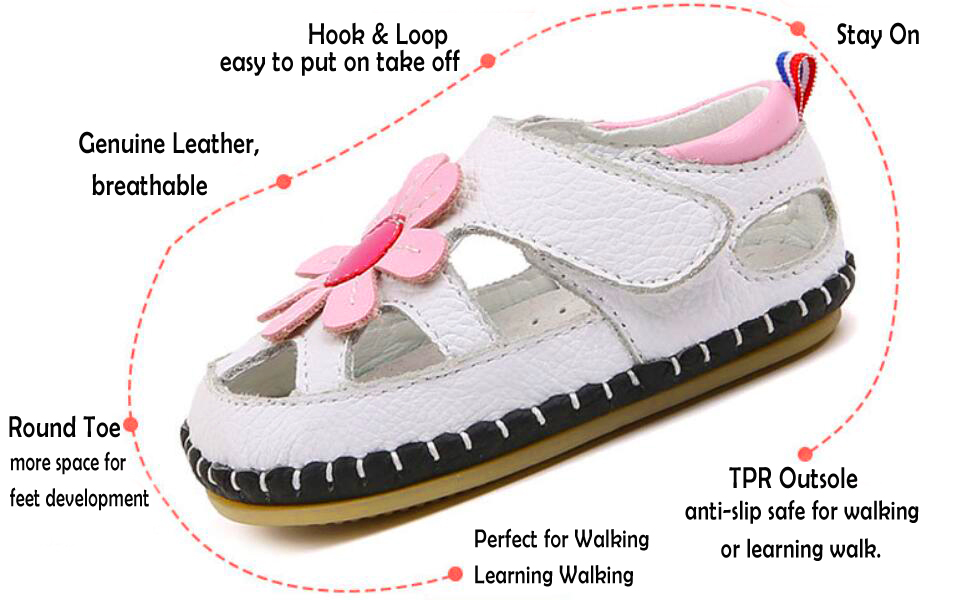 baby summer first walking shoes infant sandals