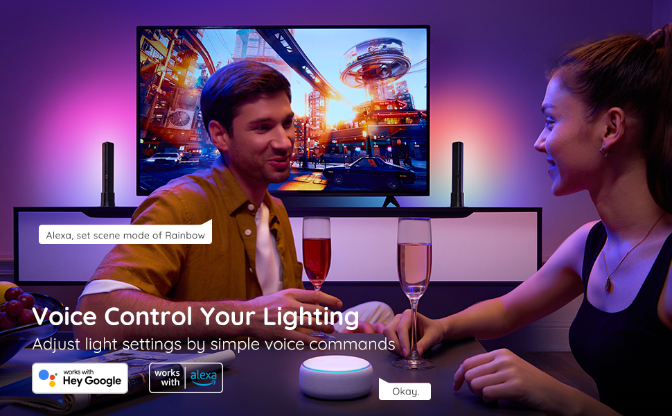 Voice Control Your Lighting
