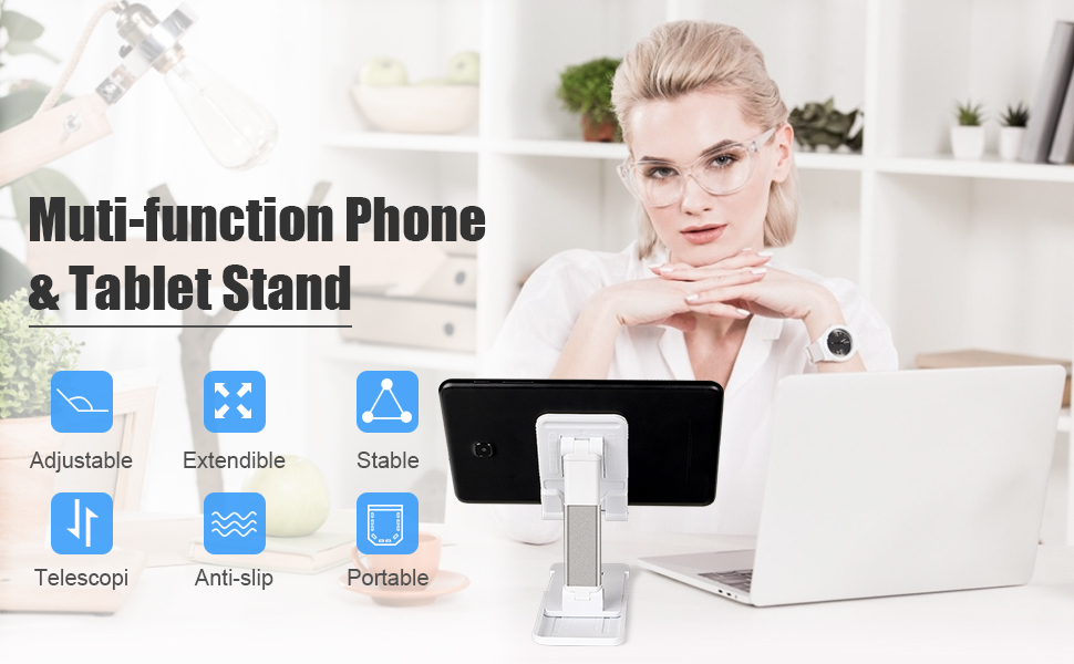 Muti-function Phone & Tablet Stand