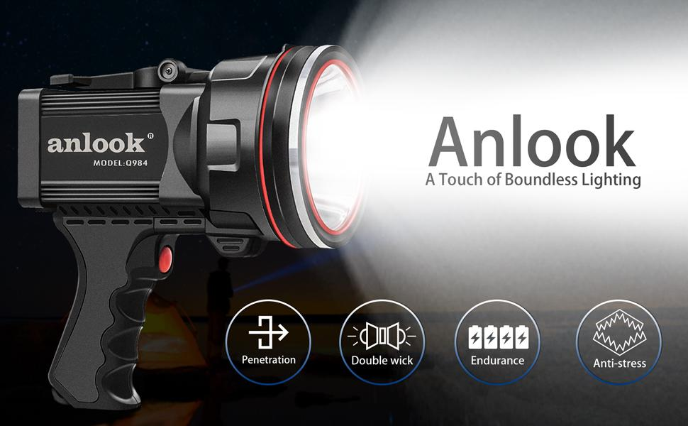 ANLOOK Super Bright Spotlight