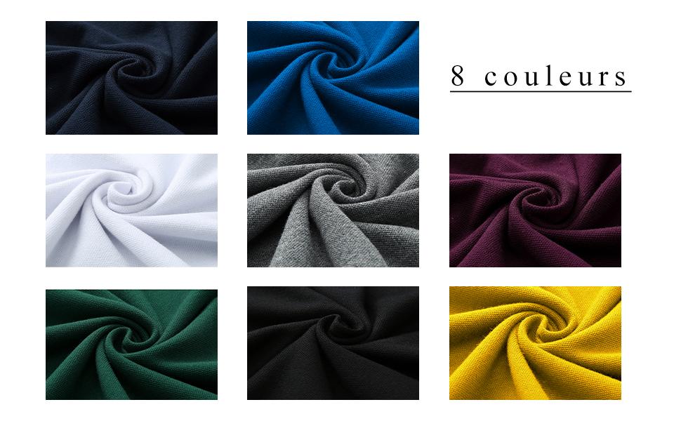 8 colors