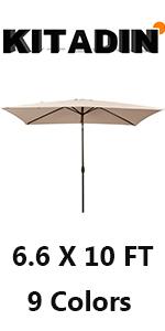 sunbrella rectangular umbrella
