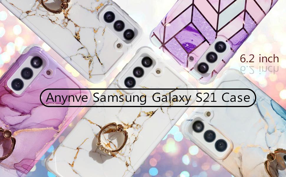 Samsung Galaxy S21 marble case