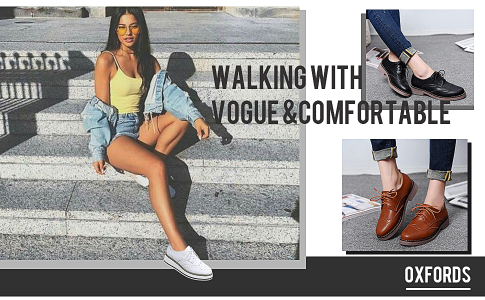 WALKING WITTH VOGUE AND COMFORTABLE