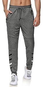 running workout pants with zipper pockets