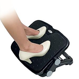 Adjustable Under-Desk Foot Rest