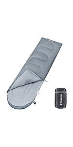 Small 3-4 Season Sleeping Bag with Hood