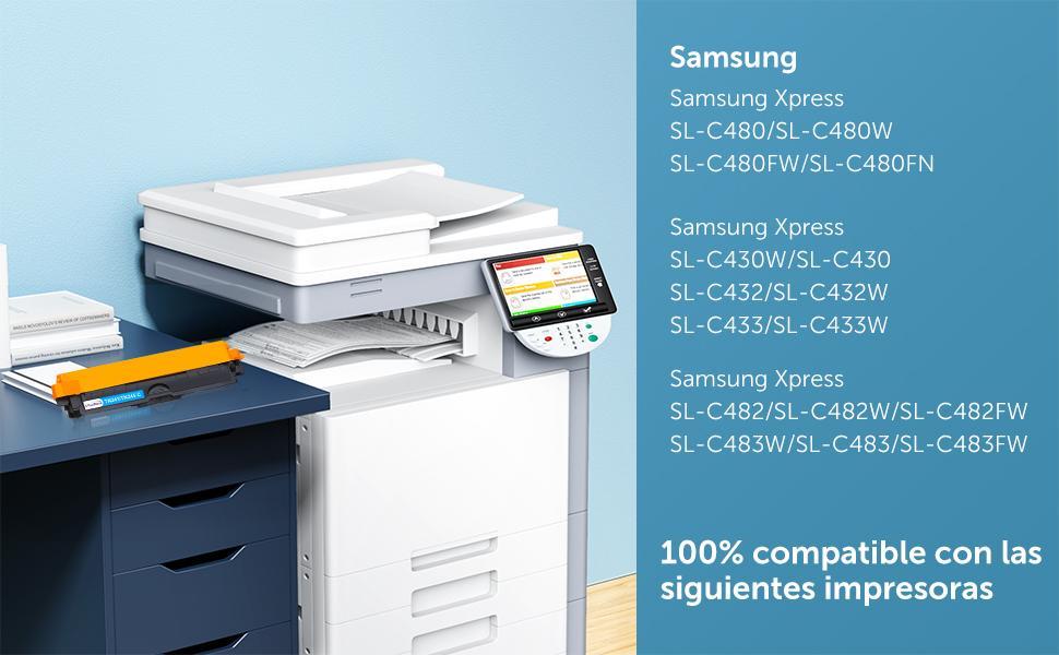 Compatible pour CLT-K404S CLT-C404S CLT-M404S CLT-Y404S
