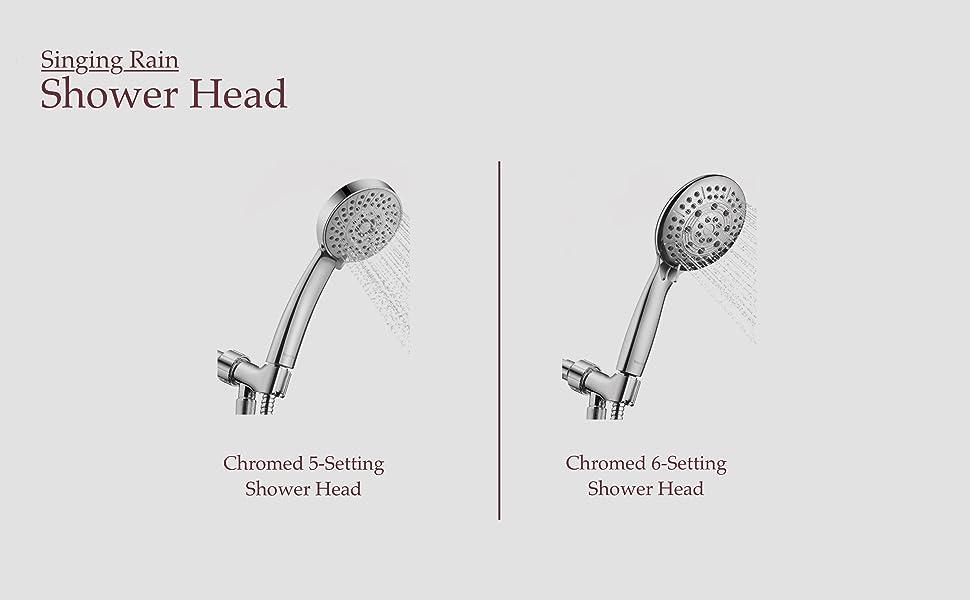 SR Shower Head Product Line