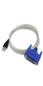 usb  to db25 female cable