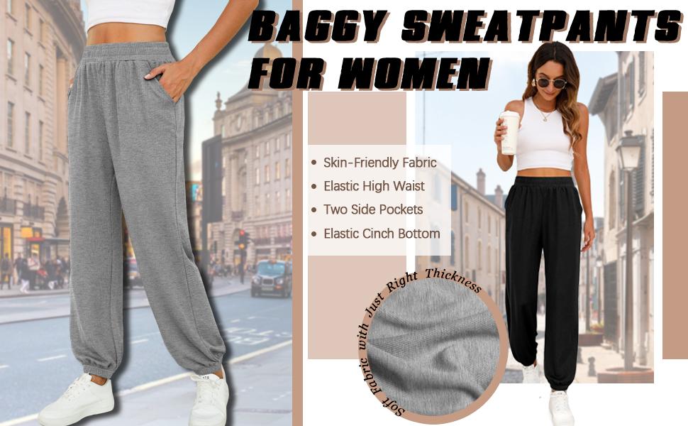 baggy sweatpants for women