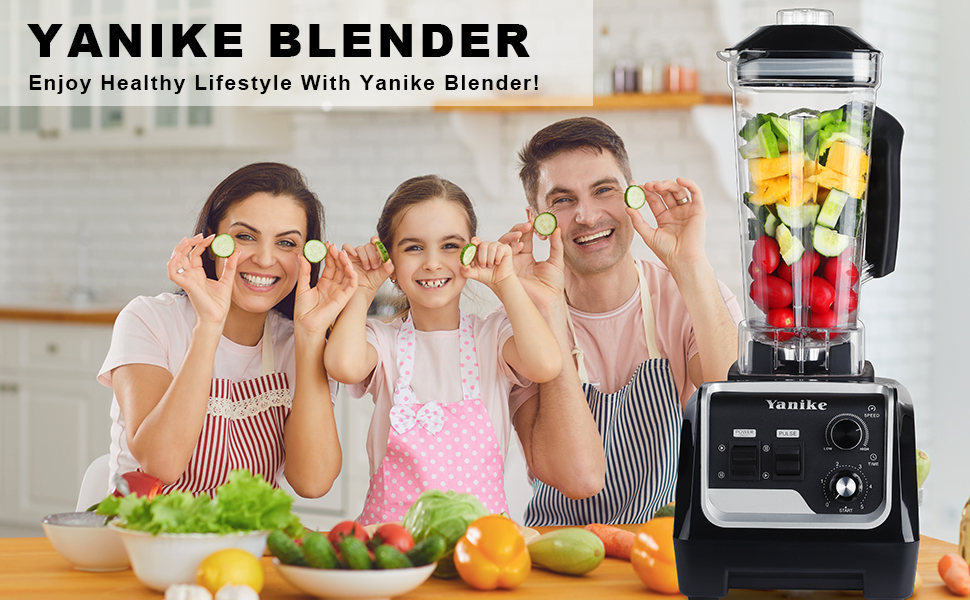Enjoy Healthy Lifestyle With Yanike Blender!