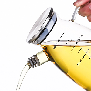 Pour oil smoothly