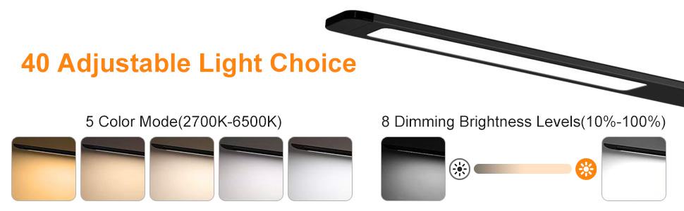 40 Adjustable Light Choice