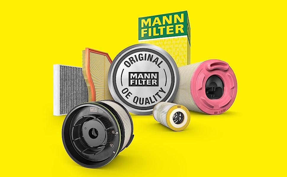 Mann Filter Air, Cabin Air, Oil amp; Fuel Filters. Automotive.