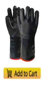 TCCFCCT Heat resistant BBQ/Grill gloves
