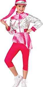 Girl's Roller Disco Costume