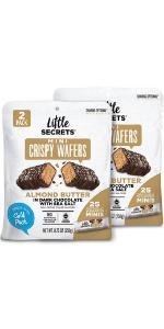 Little Secrets Almond Butter Mini Wafers