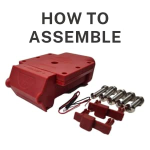 TV-201425-175 assembly instruction - weatherproof anderson connector mounting plug