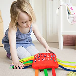 teytoy sensory buckle pillow toy