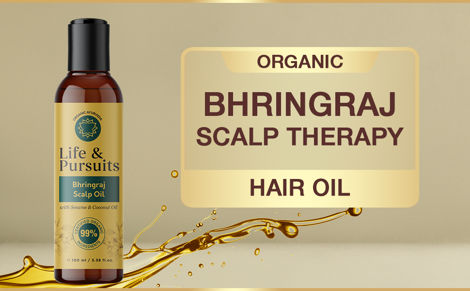 Organic Bhringraj Hair Oil