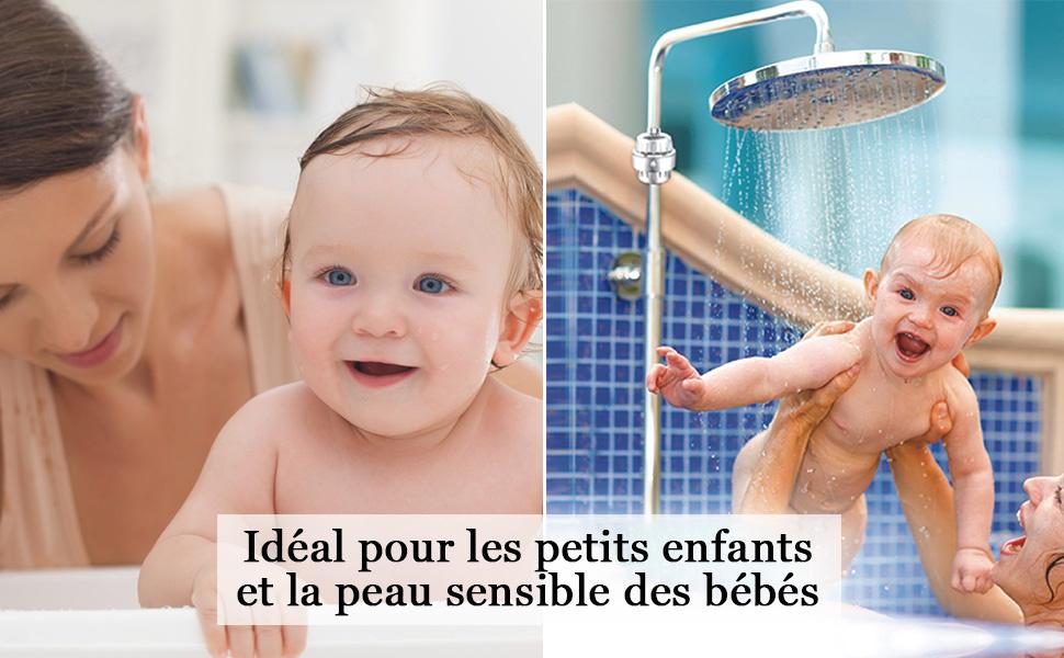 Prenez soin de la peau de votre bébé