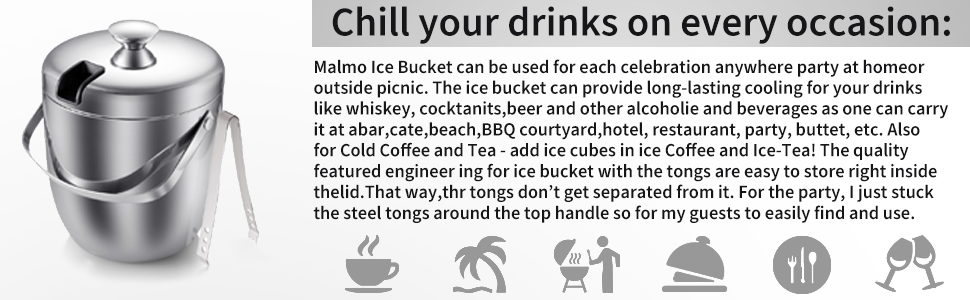 Chill your drinks on every occasion