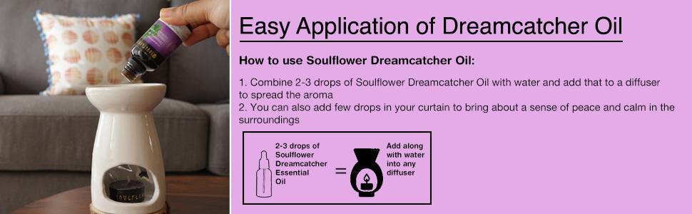 dreamcatcher essential oil blend 100% pure premium undiluted natural organic cold pressed