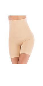 High Waist Shorts Tummy Control Panty