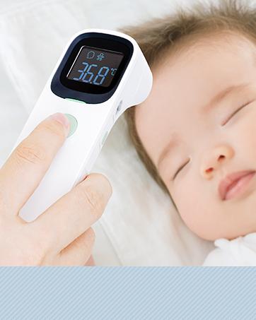 ちゃいなび 非接触体温計 JPD-FR409