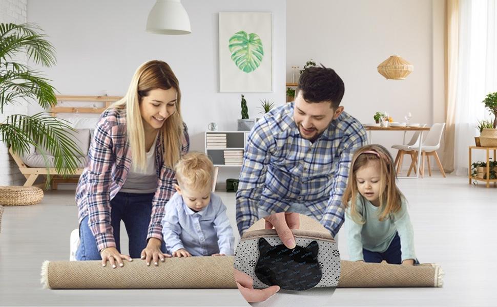 non slip rug pad rug holders for wood floors
