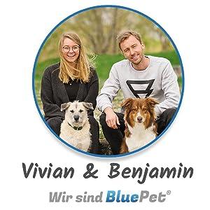 BluePet Team Hundebürsten Katzenbürsten Haustierzubehör Hund Katze Kaninchen