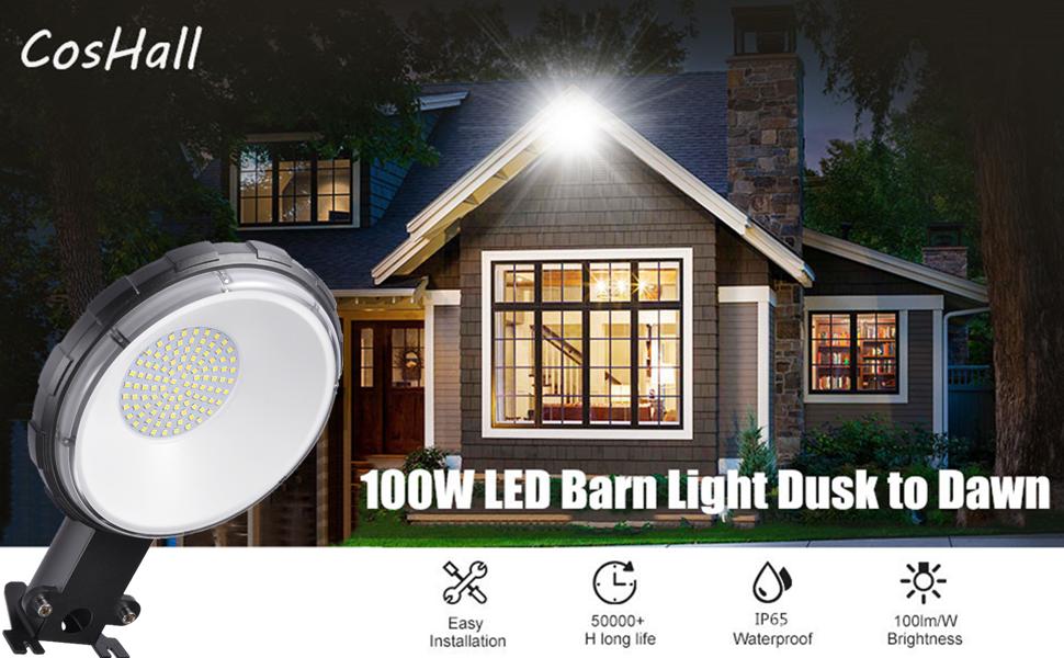 100W LED Barn Light