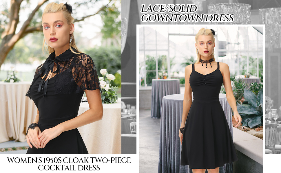 women gothic dress