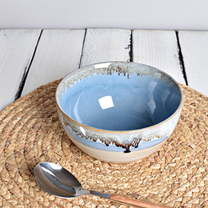 stoneware ceramic soup cereal bowls set of 4